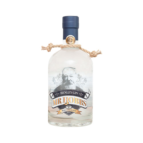 Mr. Hobbs Original gin bottle with rope