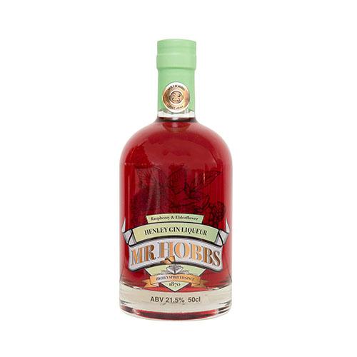 Raspberry and Elderflower gin liqueur