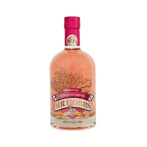 Rhubarb and Ginger gin liqueur